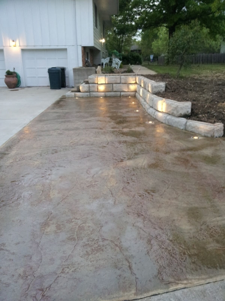 Leo Concrete Stamped Concrete Gallery