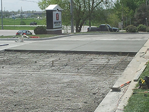 Commercial Driveway Simmons Bank Job Photo 2