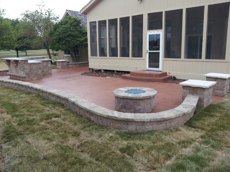 Leo Concrete Patio Amp Fire Pits Gallery